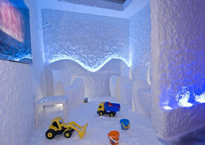 Halomed salt room